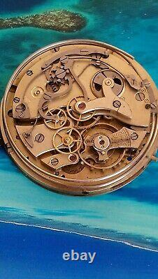 Movement for pocket watch, cal. 21123 Quarter Repeater Chronograph. Swiss made