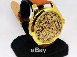 MwM watch skeleton, based on rolex pocket watch movement