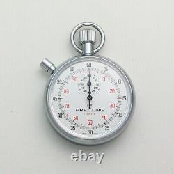 NOS Breitling Ref. 1522 Chronograph 7 Jewel Movement Pocket Timer