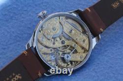 Nice chronometer PATEK PHILIPPE & Co GENEVE SKELETON POCKET WATCH MOVEMENT