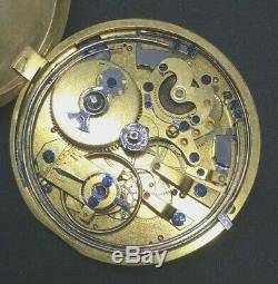 Nice quarter repeater movement 100% running circa around 1830