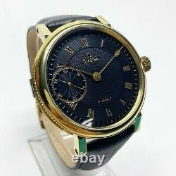 OMEGA Gold Rare Classic Marriage Pocket Watch Movement