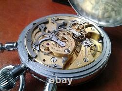 Omega MG1135 stopwatch rattrapante cal 190 split second lemania movement 1945
