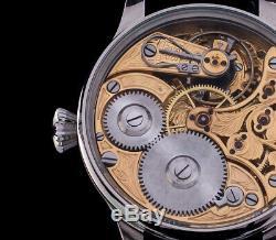 Omega Men's Skeleton High Quality Pocket Watch Movement 1905