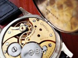 Omega Military Style Vintage Swiss Pocket Watch Movement 1931
