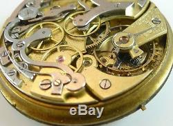 Omega Pocket Watch Movement High Grade Swiss Spare Parts / Repair
