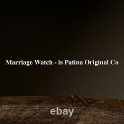 Omega Regulateur swiss pocket watch movement converted in to wristwatch Marriage