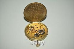 Omega Uhrwerk Handaufzug Zifferblatt für Taschenuhr Bienne Geneve pocket watch
