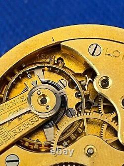 Original LONGINES POCKET caliber 18.80 movement running & dial ref. (1c/6299)
