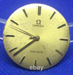Original OMEGA 601 manual winding movement & dial (1C/6118)