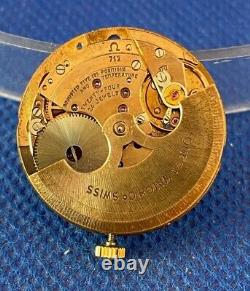 Original OMEGA cal. 712 automatic movement with hands running (1C/14638)