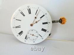 Original swiss High grade pocket watch movement funktion working (Z553)