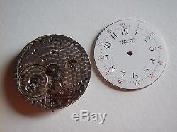 PATEK PHILIPPE Tiffany New York Pocket Watch Movement No 105273 White Dial