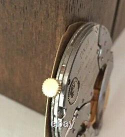 PIAGET caliber 12P Movement 24k gold Micro-rotor & dial. Circa 1970's(1C/5590)
