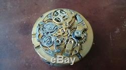 POCKET WATCH Quarter Repeater LE PHARE Movement working. No Reserve