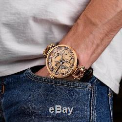PREMIUM Men Skeleton watch, Pocket Watch, swiss movement, personalised watches old