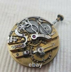Patek Philippe Chronograph Pocket Watch Movement