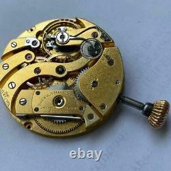 Patek Philippe Chronometro Gondolo Complete Pocket Watch Movement 100% Genuine