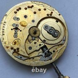 Patek Philippe Chronometro Gondolo Pocket Watch Vintage Genuine Movement 40.5 MM