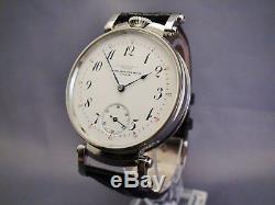 Patek Philippe & Co. Stainless Steel Wristwatch. Chronometer Movement