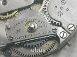 Patek Philippe Small Pocket Watch Movement and Dial