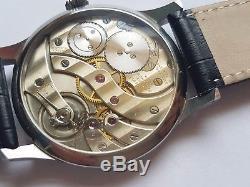 Patek Philippe high grade pocket watch movement Custom made steel watch with box