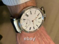 Patek Philippe watch with Rare Old Pocket Movement Antique Vintage Convert