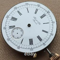 Perret & Fils Movement Chronograph Perfect Dial High Quality Run