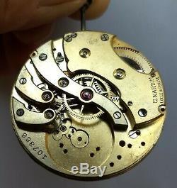 Pocket Watch Movement Ulysse Nardin