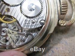 RAILWAY SPECIAL Hamilton Gold Filled Running Pocket Watch 21Jewels 992B MOVEMENT