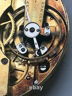 RARE PATEK PHILIPPE spring detent escapement chronometer pocket watch movement