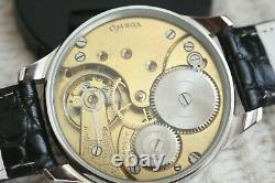 REGULATOR Vintage 1915`s Omega Pocket Swiss movement in New wrist Men Case