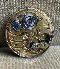 REPETITION 1/4 REPEATER 48 mm Pocketwatch Movement ca. 1900