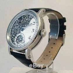 ROLEX Black & White Elegant Classic Marriage Pocket Watch Movement