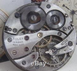 ROLEX cal. 540 pocket watch movement for parts/repair