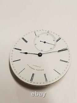 Rare 1870s 16s KW KS Philadelphia Watch Co Pocket Watch Movement (ser# 1279)