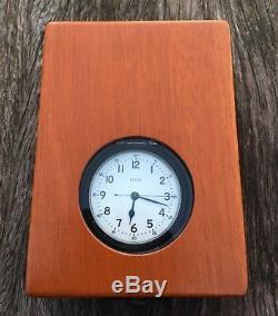 Rare 1943 Royal Navy Elgin Chronometer Deck watch hacking 581 grade movement HS3