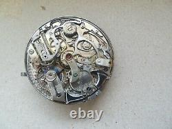 Rare 43mm Repeater antique pocket watch movement not work Repeater (Z38)