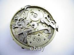Rare 44mm Repeater antique pocket watch movement not work Repeater (Z295)
