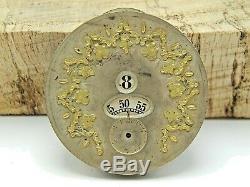 Rare Antique Pocket watch movement A Sandoz & Boucherin Jump hour pallweber