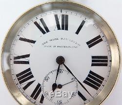 Rare Australian Market The Wide Bay Lever Buren Movement Pocket Watch