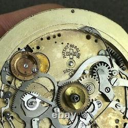 Rare Big Minute Repeater Pocket Watch High Grade Movement