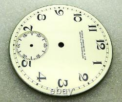 Rare Cosmetic Condition Superb Unused Patek Philippe & Cie Pocket Watch Dial