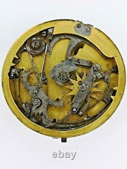 Rare Cylinder English Repeater Pocket Watch Movement, London, To Restore (F112)