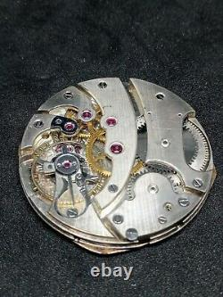 Rare Movement Tiffany Pocket Watch