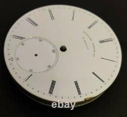 Rare Philadelphia Watch Co. High Grade E Paulus Patent pocket watch movement