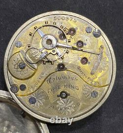 Rare South Bend 1908 With Columbus Time King Movement 21 J