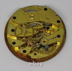Rare Vintage Swiss (Longines) Baume & Co, Cal 12.91, Pocket Watch Movement, 27mm
