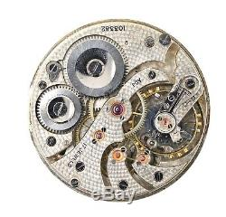 Record Dreadnaught High Grade Swiss Lever Pocket Watch Movement H97