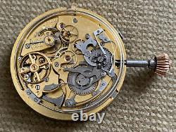 Repetition Uhrwerk für Taschenuhr 1/ 4 Repeater 50 mm ca. 1900